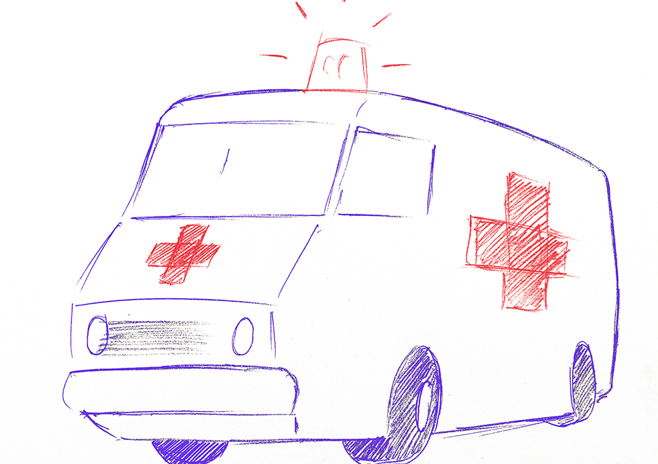Mon ambulance est une lumière dans la nuit