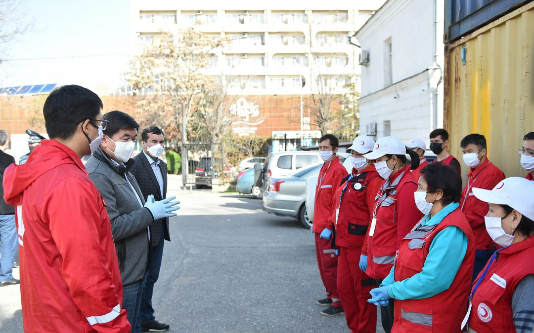 I'm proud to be part of the Red Cross and Red Crescent Movement COVID-19